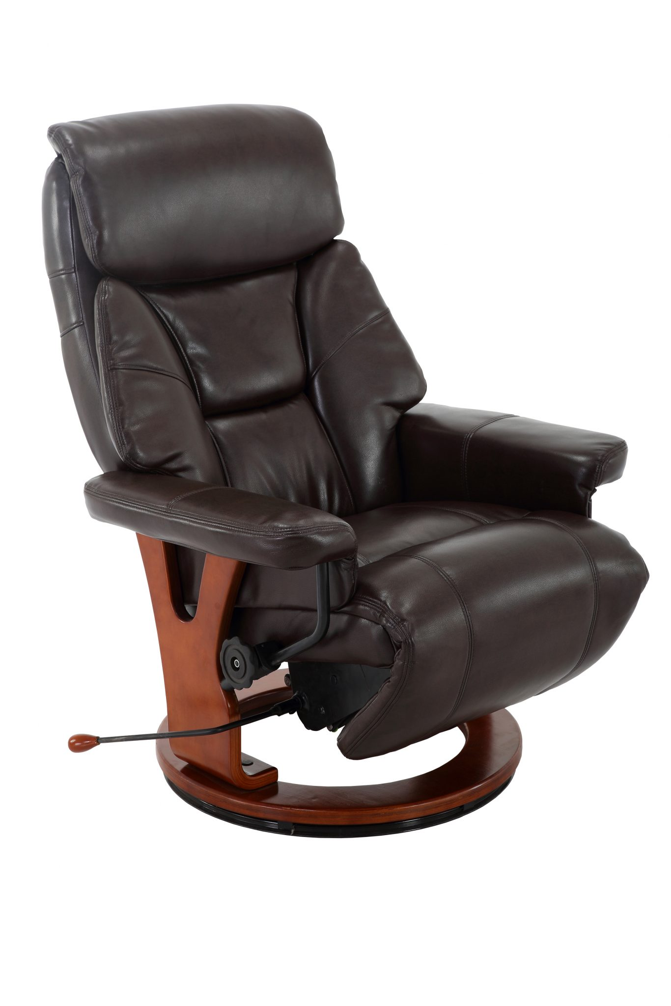 Bismark Recliner In Angus Air Leather Mac Motion Chairs